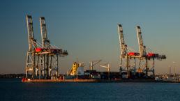 Der Containerhafen