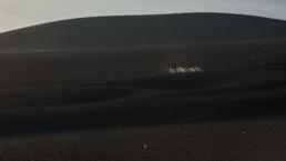 Die schwarze Mondlandschaft