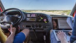 Das Leben im Auto